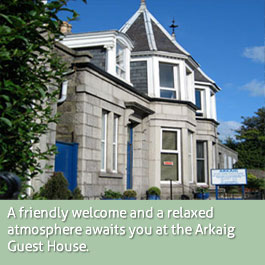 Arkaig Guest House in Aberdeen